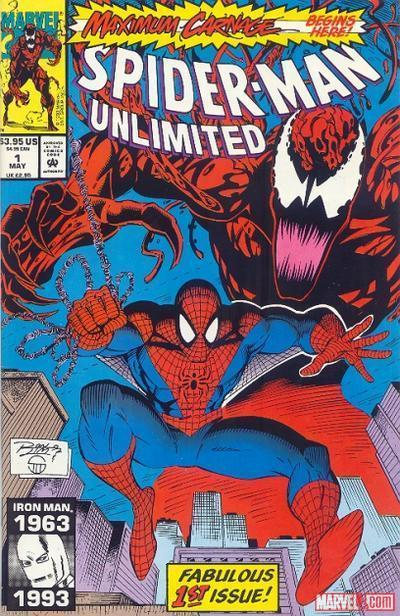 Spider-Man Unlimited (1993) #1 cover by Ron Lim