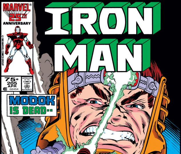 Iron Man (1968) #205 Cover