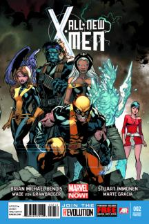 All-New X-Men #2  (2nd Printing Variant)