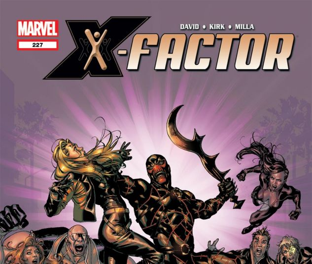 X-Factor (1986) #227 Cover
