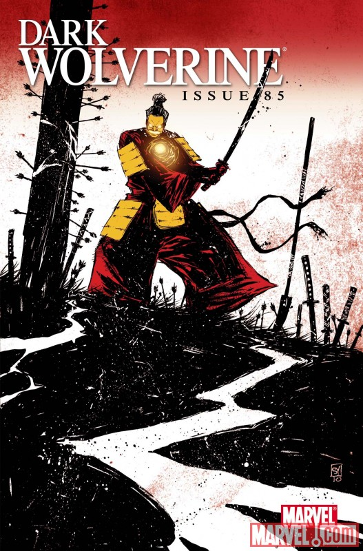 DARK WOLVERINE #85 Iron Man By Design Variant by Skottie Young