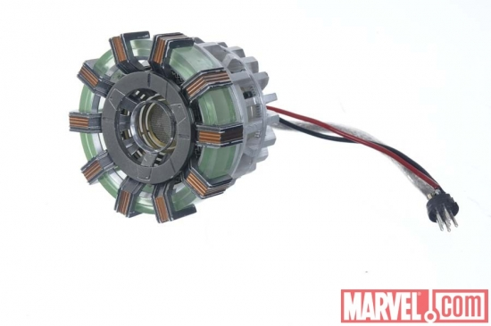 Mini Arc Reactor movie prop from Iron Man