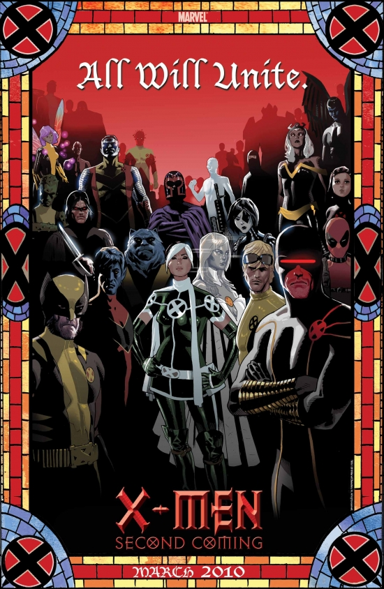 Image Featuring Colossus, Warpath, Cyclops, Wolverine, Deadpool, X-Men, Domino, Pixie, Dust, Anole, Emma Frost, Iceman, Magneto, Archangel, Nightcrawler, Beast, Rogue, Cannonball