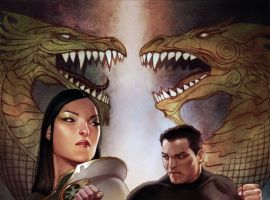 AGENTS OF ATLAS #11 cover by Adi Granov