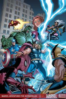 Marvel Adventures the Avengers (2006) #31