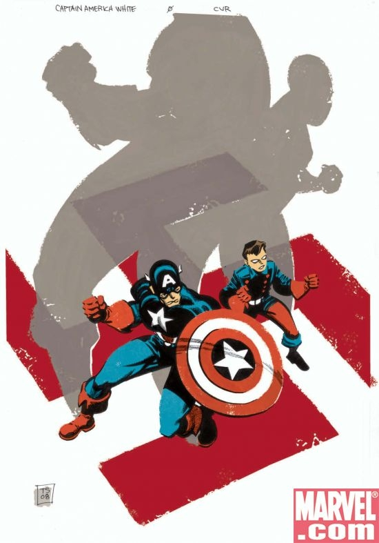 CAPTAIN AMERICA:WHITE #0