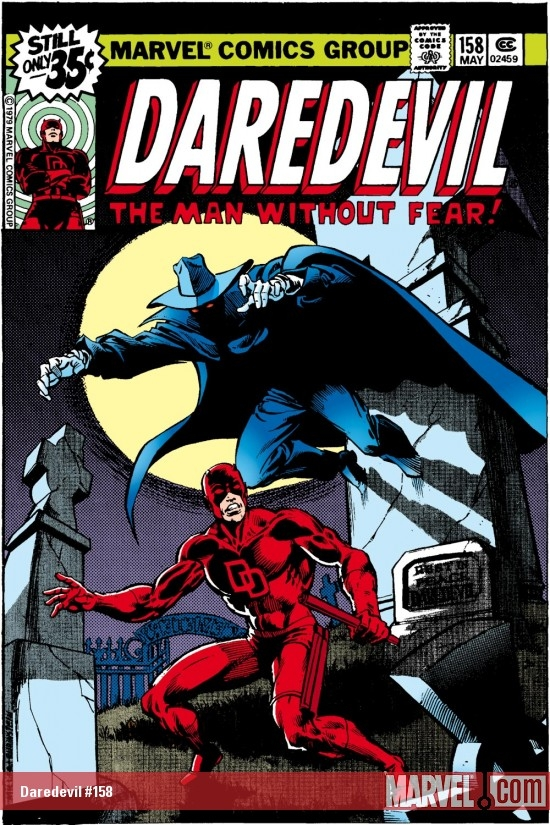 DAREDEVIL #158 COVER
