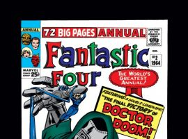 FANTASTIC FOUR ANNUAL #2 COVER