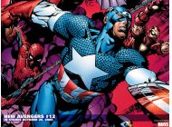 New Avengers (2004) #12 Wallpaper