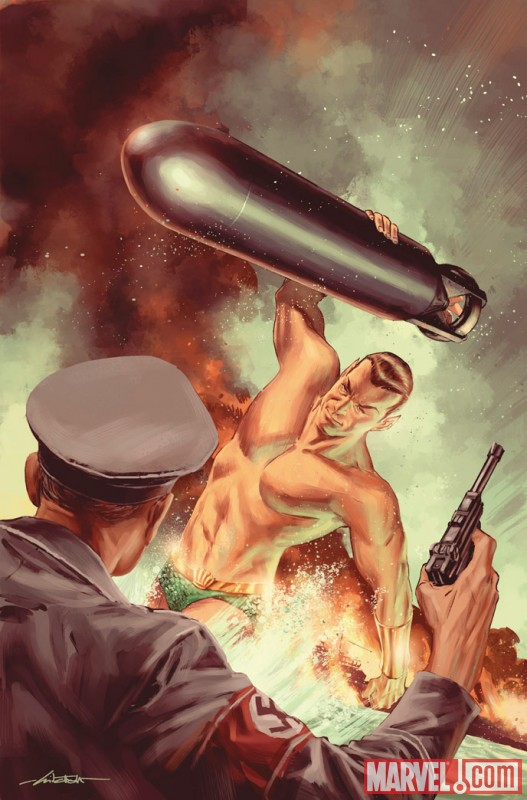 Namor by Mitch Breitweiser