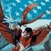 Captain America and Falcon #1 cover by Greg Tocchini