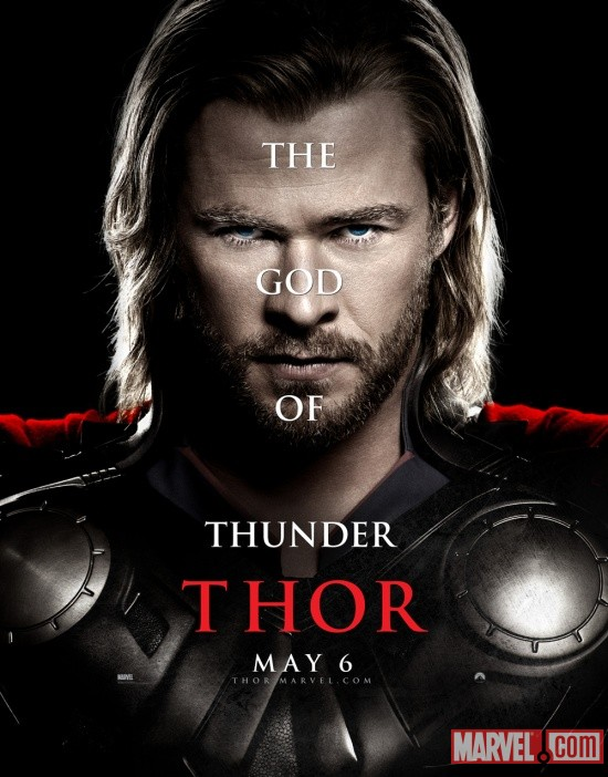 Thor character one-sheet