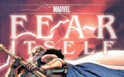 Fear Itself #1 variant cover by Stuart Immonen