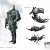 Baron Strucker concept art from Captain America: Super Soldier