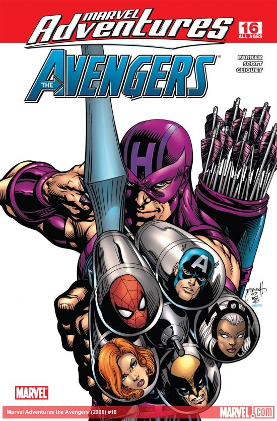 Marvel Adventures the Avengers (2006) #16