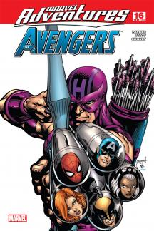 Marvel Adventures the Avengers #16