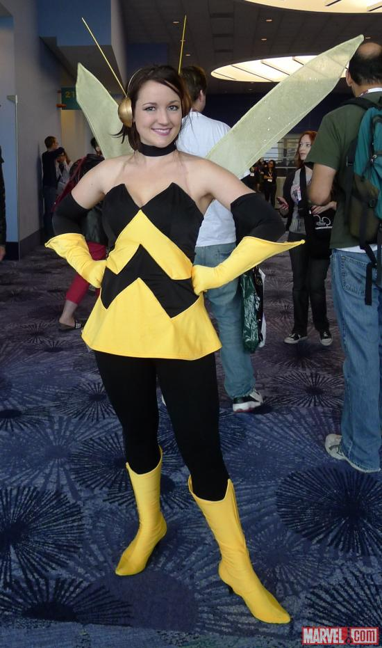 Wasp from The Avengers: Earth's Mightiest Heroes! cosplayer at WonderCon 2012