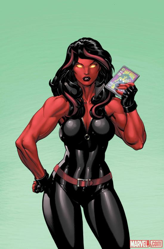 Red She-Hulk #58 cover
