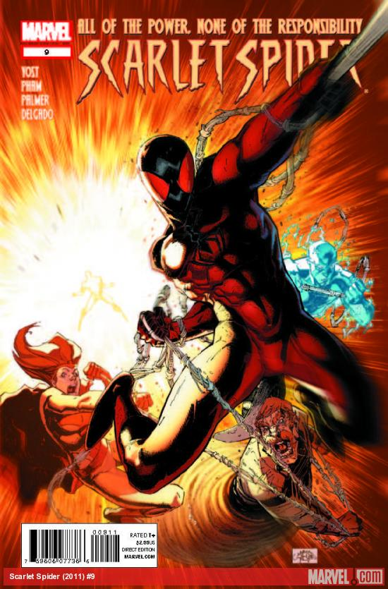 SCARLET SPIDER 9