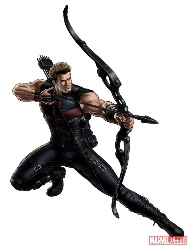 Hawkeye (Marvel's The Avengers alternate costume) in Marvel: Avengers Alliance