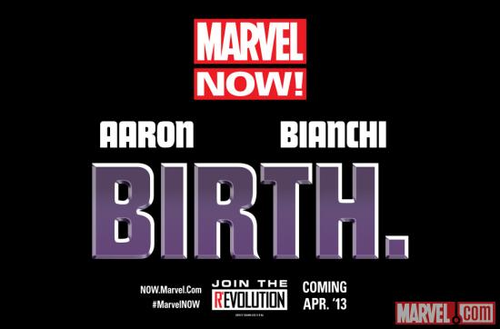 The Future of Marvel NOW! is Birth