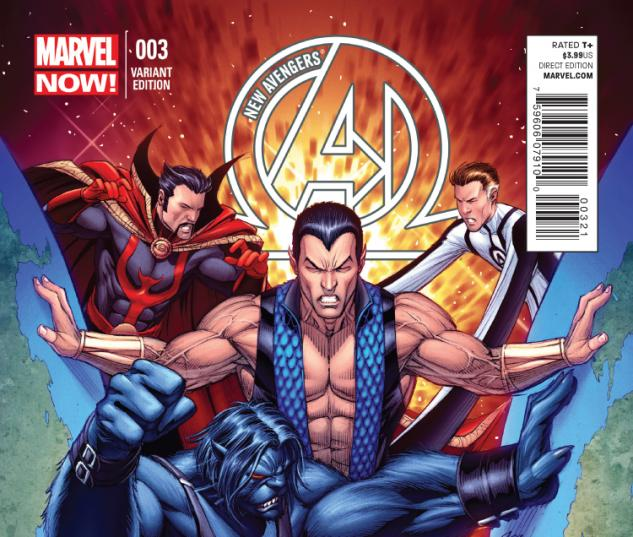 cover from New Avengers (2013) #3 (Lightle Variant)