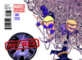 SECRET AVENGERS 1 YOUNG VARIANT (NOW, WITH DIGITAL CODE)