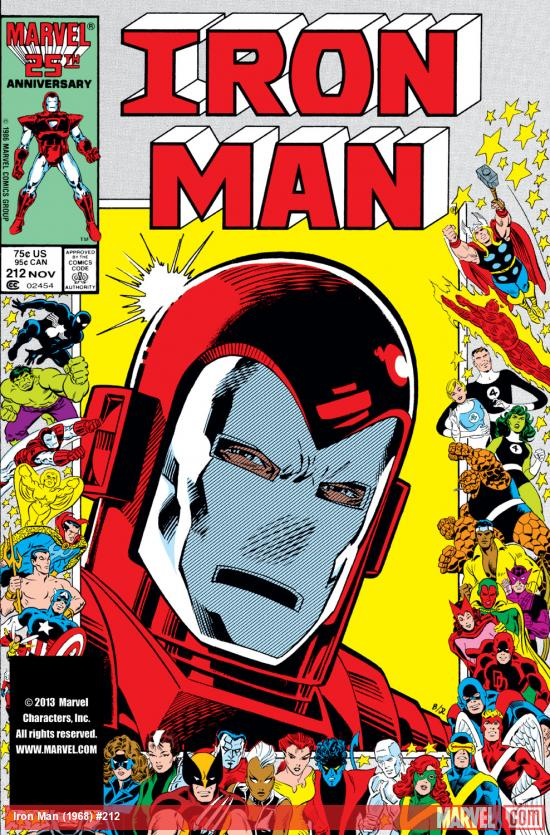 Iron Man (1968) #212 Cover