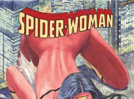 SPIDER-WOMAN 1 MANARA VARIANT (SV, WITH DIGITAL CODE)