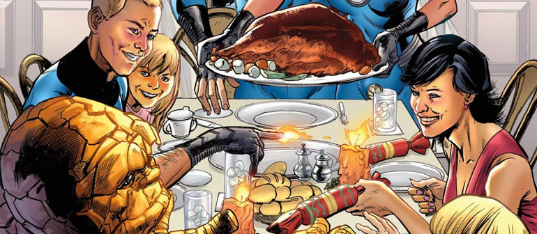 Celebrate Thanksgiving the Marvel Way