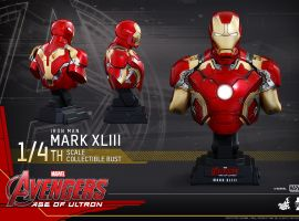Hot Toys 'Marvel's Avengers: Age of Ultron' 1/4th scale Mark XLIII Collectible Bust