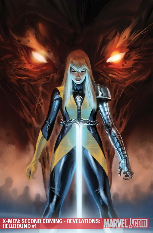 X-Men: Hellbound #1 cover by Marko Djurdjevic