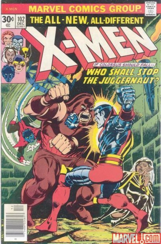 UNCANNY X-MEN #102