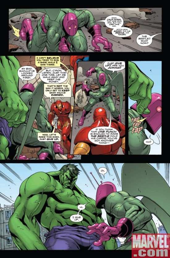 MARVEL ADVENTURES SUPER HEROES #4, page 4