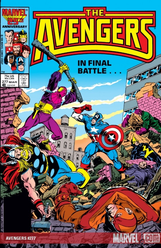 AVENGERS #277