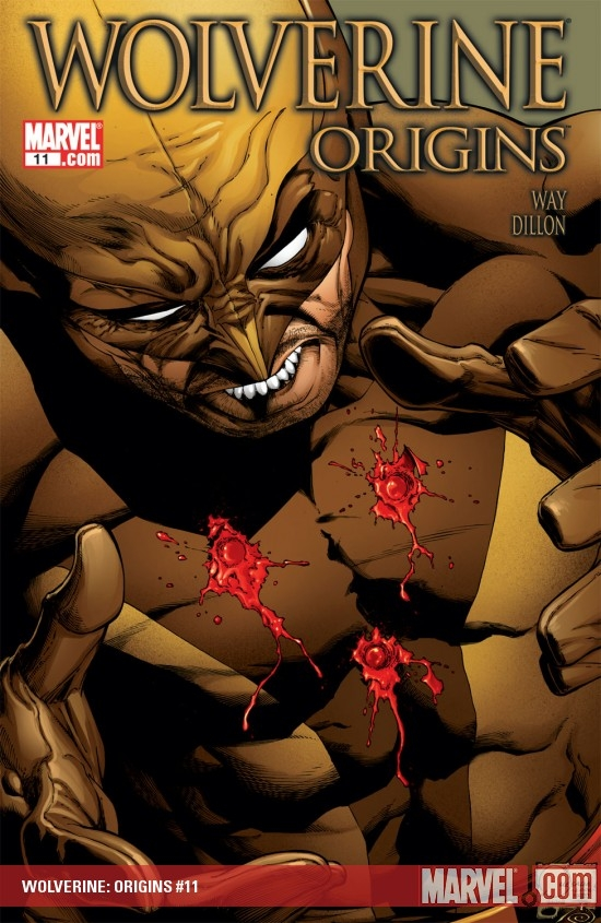 WOLVERINE: ORIGINS (2008) #11 COVER