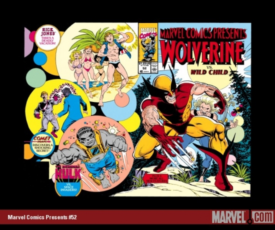 Marvel Comics Presents #52