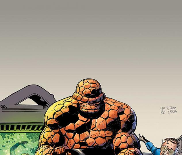 STAN LEE MEETS THE THING (2008) #1 COVER