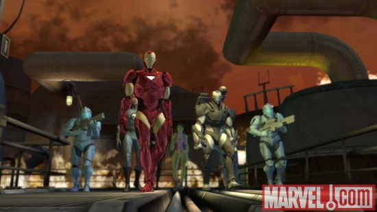 Iron Man in Marvel: Ultimate Alliance 2