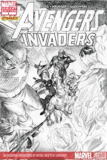 Avengers/Invaders (2008) #1 (ROSS SKETCH VARIANT)
