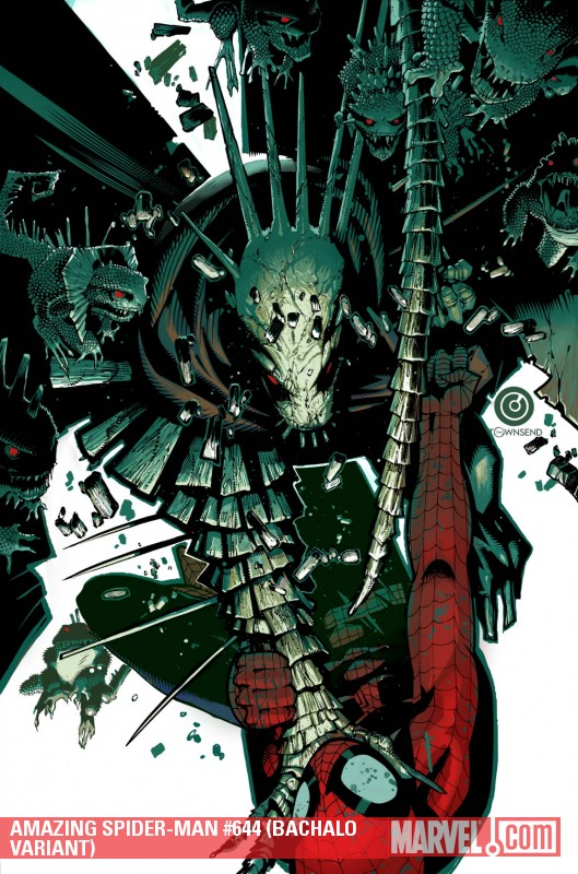 Amazing Spider-Man (1999) #644 (BACHALO VARIANT)
