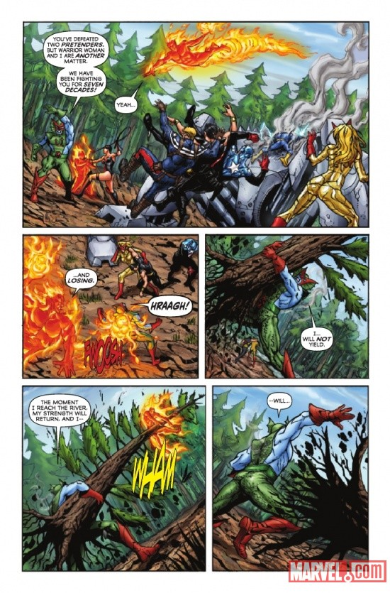 INVADERS NOW! #3 preview page by Caio Reiss