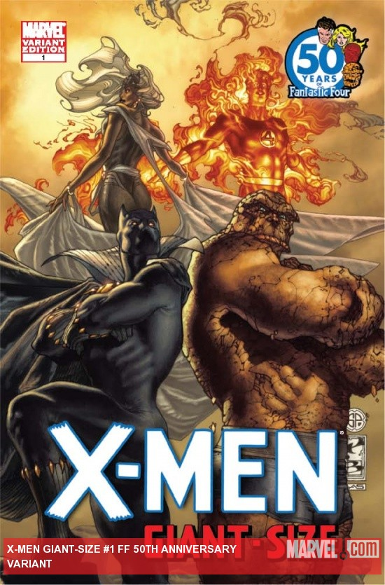 X-Men Giant-Size #1 FF Anniversary Variant