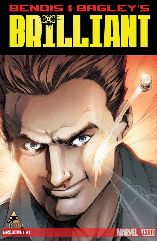 Brilliant (2011) #1 Cover