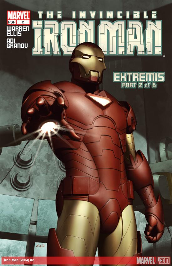 Iron Man (2004) #2