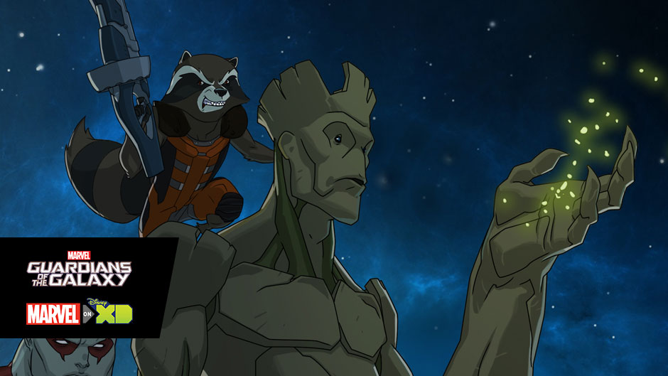 Marvel's Guardians of the Galaxy official art