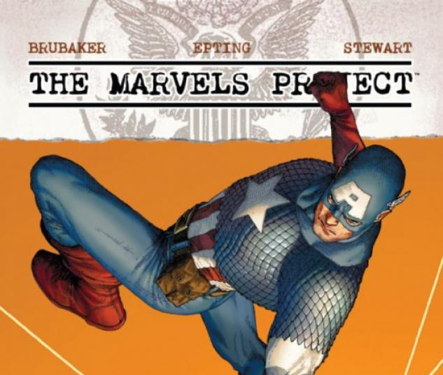 THE MARVELS PROJECT #6 Cover by Steve McNiven