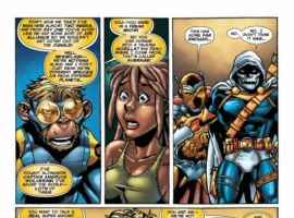 MARVEL APES: SPEEDBALL #1 preview page 8