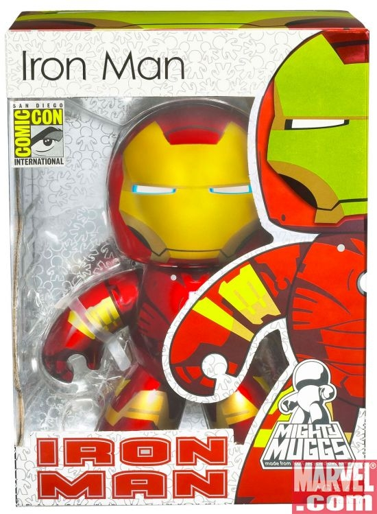 Iron Man Mighty Mugg, in box