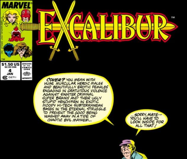 EXCALIBUR #4 COVER